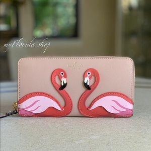 NWT❗️Kate Spade Flamingo Wallet